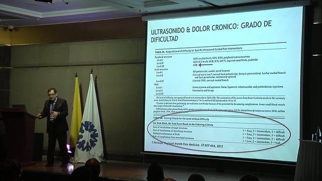 Intervenciones Guiados por Ultrasonido para Dolor por Cáncer – Carlos Restrepo, MD
